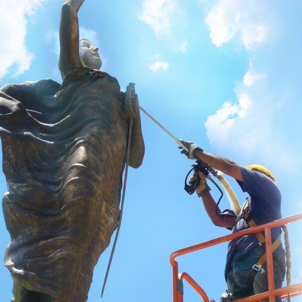 czyszczenie pomników, renowacja zabytków