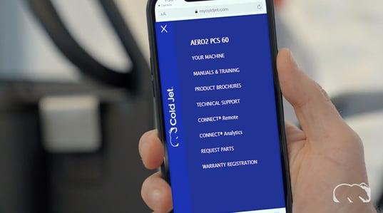 ekran główny CONNECT
