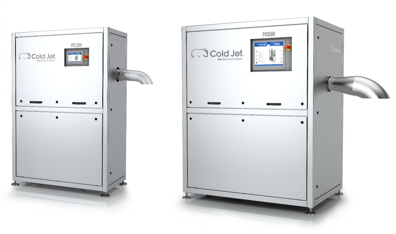 PR120 i PR350 maszyny wytwarzające suchy lód